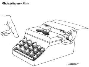 CARICATURA ALFARO