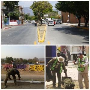 Con Pacto por Tuxtla, se continúa el embellecimiento de la ciudad con acciones de limpieza