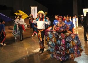 Delegación de Chiapas en la Olimpiada Nacional Juvenil 2013