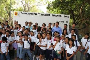 Efectúa Ayuntamiento Capacitación Turística Infantil 2013, en escuelas de Tuxtla Gutiérrez