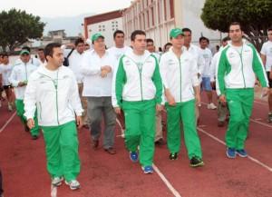 El gobernador y funcionarios del deporte hicieron el recorrido por las instalaciones