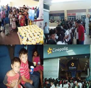 En colaboración con Cinépolis, DIF Tuxtla lleva sonrisas a miles de niñas y niños