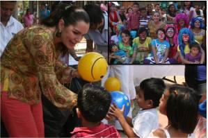 """Festeja DIF Tuxtla a niñas y niños del Centro de Rehabilitación """"Casa Guía"""""""