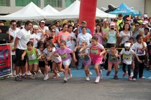 Los niños de cinco categorías se dieron cita al evento atlético