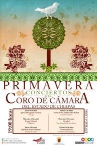 Continúa exitosa gira de conciertos del Coro de Cámara en el Teatro de la Ciudad, este martes