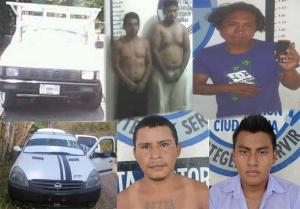 FCOM - gRUPO COORDINACION EN SEGURIDAD CINCO DETENIDOS 03-05-2013