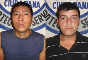FNB - Dos sujetos detenidos con armas blancas