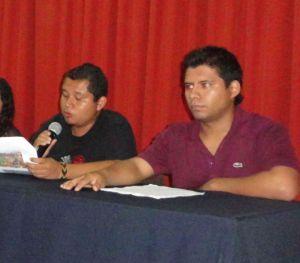 José Romeo interiano López y José Emilio Gómez Escobedo- 8o semestre de  Historia