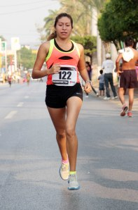 Montserrat Rincón ganadora de la libre femenil